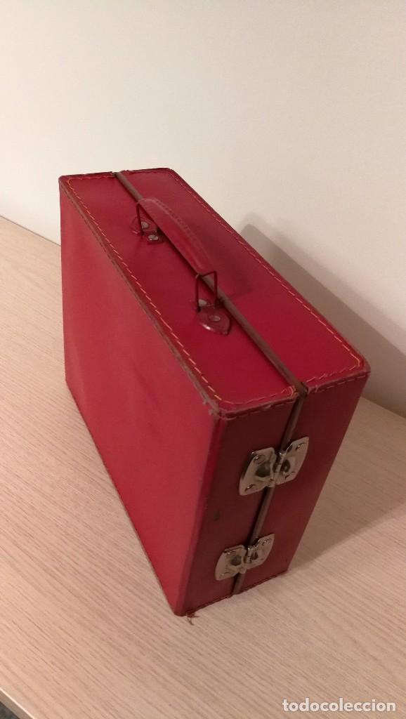 Gramófonos y gramolas: GRAMOFONO INFANTIL ORPHEE A CUERDA, EXCELENTE CON DOS DISCOS DE 16 CM - Foto 8 - 73453211