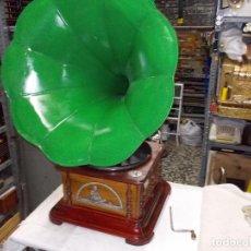 Gramófonos y gramolas - Gramofono FUNCIONANDO - 74167039