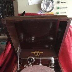 Gramófonos y gramolas: GRAMOFONO COLUMBIA MODELO 118, AÑO 1930, EXCELENTE. Lote 74388331