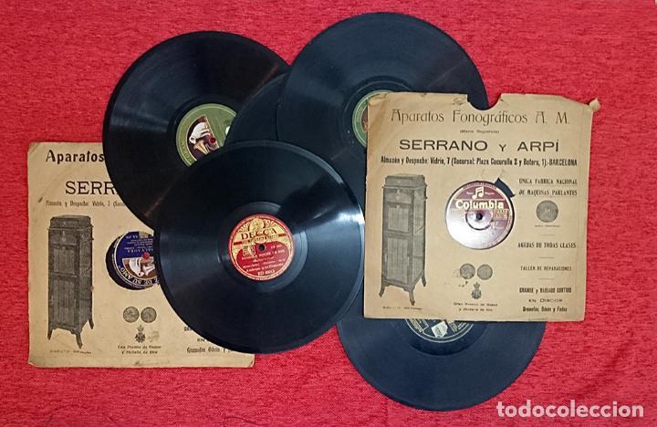 Gramófonos y gramolas: GRAMÓFONO DE MALETA - Foto 12 - 41839437