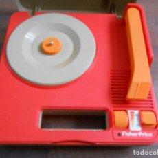 Gramófonos y gramolas: TOCADISCOS PORTATIL FISHER-PRICE 820 MADE IN HONG KONG 1983 FISHER PRICE DISCOS VINILOS VINILO DISCO. Lote 100240580