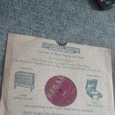 Gramófonos y gramolas: DISCO PIZARRA ANTIGUO REGAL. Lote 79859033