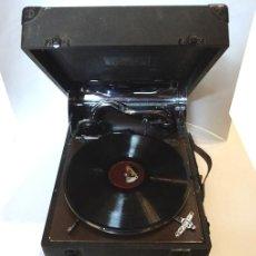 Gramófonos y gramolas: GRAMÓFONO PORTÁTIL SALON DECCA. Lote 82394715