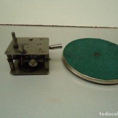 Gramófonos y gramolas: MOTOR DE GRAMOFONO 3. Lote 82876508