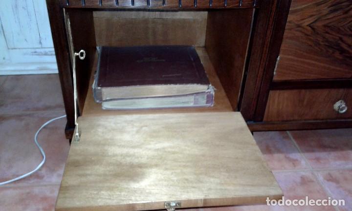 Gramófonos y gramolas: GRAMOLA MUEBLE BAR ART-DECO PRIMER CUARTO SIGLO XX - Foto 8 - 84348160