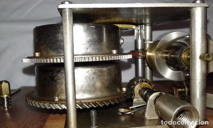 Gramófonos y gramolas: GRAMOLA MUEBLE BAR ART-DECO PRIMER CUARTO SIGLO XX - Foto 12 - 84348160