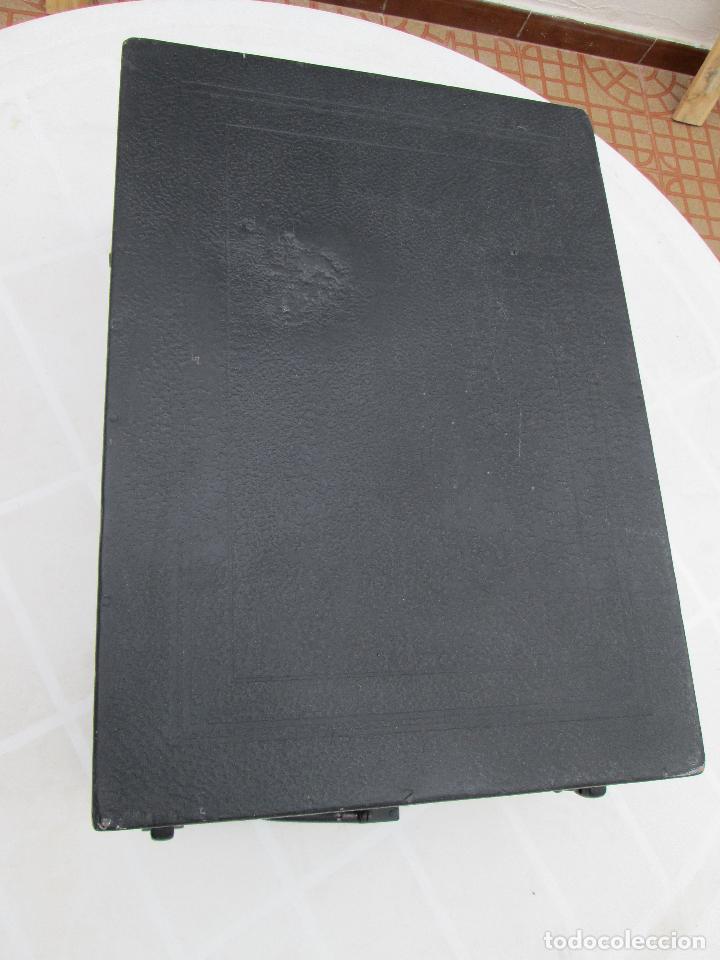 Gramófonos y gramolas: Gramofono antiguo de maleta Columbia viva-tonal grafonola Nº 109 A Made in England - Foto 2 - 84548760