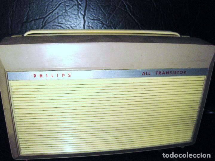 Gramófonos y gramolas: TOCADISCOS PHILIPS ALL TRANSISTOR AG 4000 año 1963-64 -PICK-UP PORTATIL PARA PIEZAS NO FUNCIONA - Foto 2 - 87077376