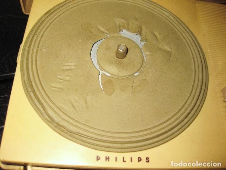 Gramófonos y gramolas: TOCADISCOS PHILIPS ALL TRANSISTOR AG 4000 año 1963-64 -PICK-UP PORTATIL PARA PIEZAS NO FUNCIONA - Foto 3 - 87077376