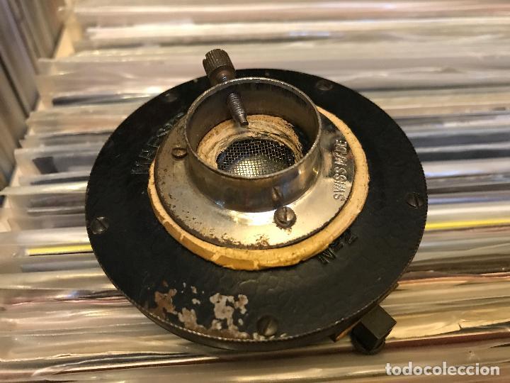 Gramófonos y gramolas: Diafragma o capsula para gramófono Maestrophonic Hecho en suiza - Foto 4 - 89683140