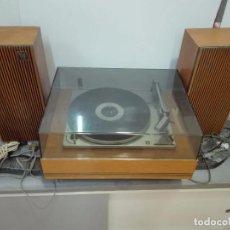 Gramófonos y gramolas: ANTIGUO TOCADISCOS MARCA PERPETUUM EBNER CON ALTAVOCES ESPAÑOLA S.A. - BARCELONA. Lote 90042548