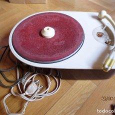 Gramófonos y gramolas: TOCADISCOS PHILIPS AG-2140. MODELO VINTAGE AÑO 1955.. Lote 91007710