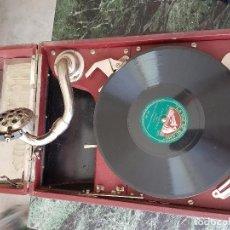 Gramófonos y gramolas: GRAMOFONO AÑOS 1920. Lote 91437455