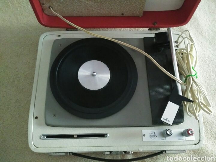 Gramófonos y gramolas: TOCADISCOS EUROVOX 505S - Foto 3 - 92302978