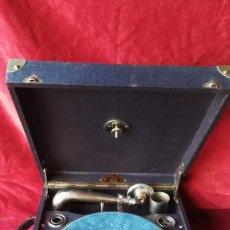 Gramófonos y gramolas: GRAMOFONO PATHE DIAMOND 1930, EN FUNCIONAMIENTO, VER FOTOS Y VIDEO. Lote 97041083