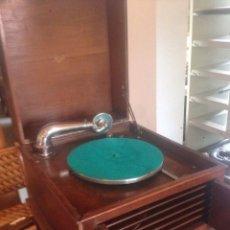 Gramófonos y gramolas: ANTIGUO GRAMOFONO PATHE 419 DE FRANCIA -AÑO 1920- FUNCIONA. Lote 100175431