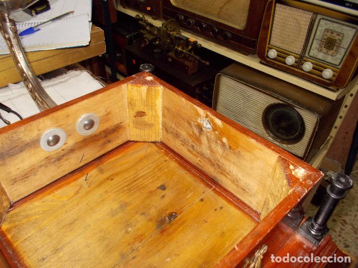 Gramófonos y gramolas: Gramofono funcionando - Foto 6 - 101381979