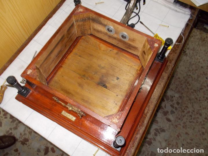 Gramófonos y gramolas: Gramofono funcionando - Foto 7 - 101381979