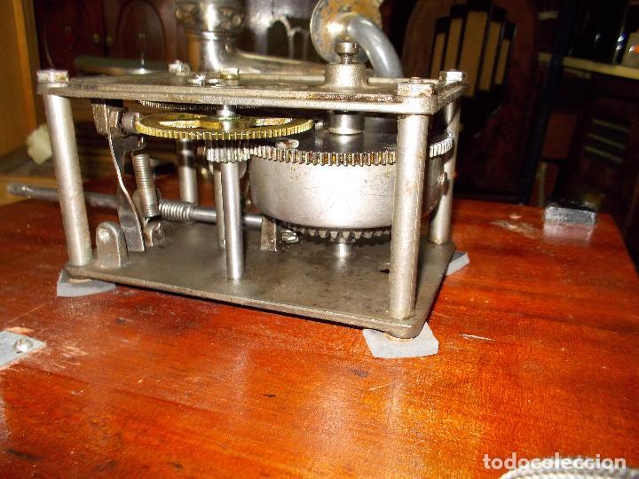 Gramófonos y gramolas: Gramofono funcionando - Foto 10 - 101381979