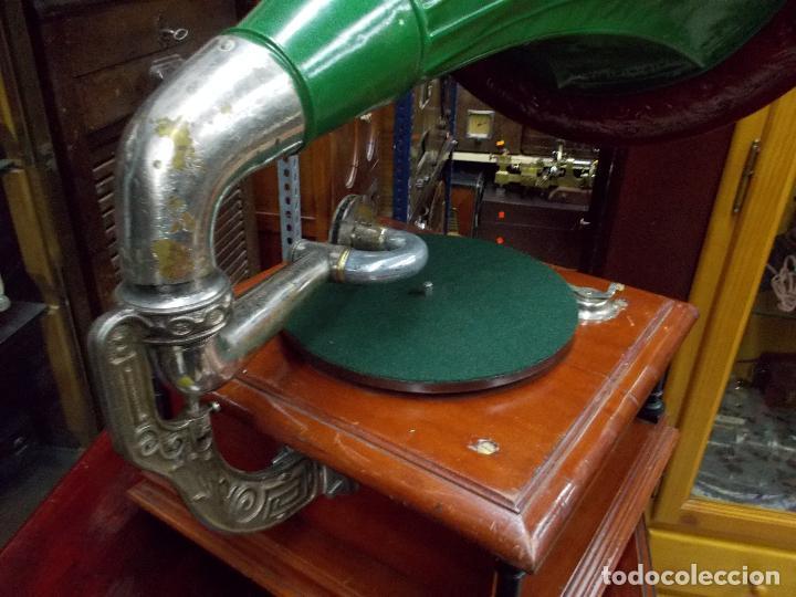Gramófonos y gramolas: Gramofono funcionando - Foto 17 - 101381979
