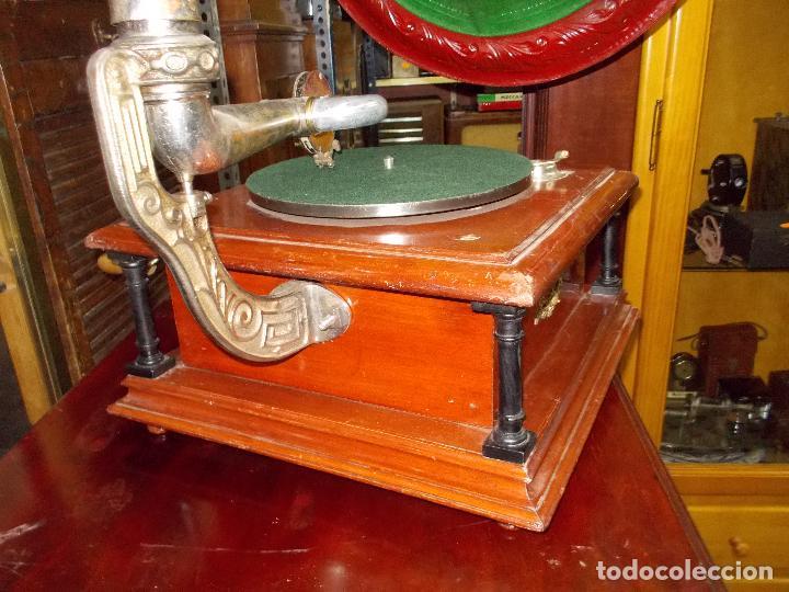 Gramófonos y gramolas: Gramofono funcionando - Foto 18 - 101381979