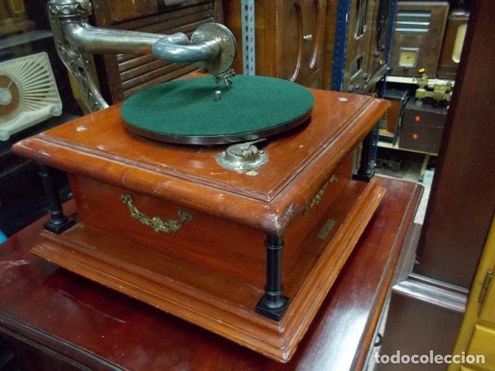 Gramófonos y gramolas: Gramofono funcionando - Foto 20 - 101381979