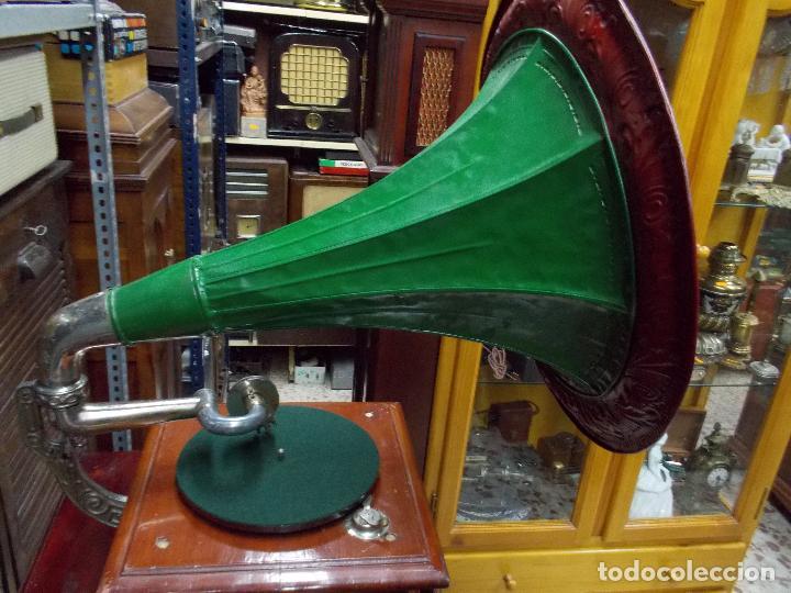 Gramófonos y gramolas: Gramofono funcionando - Foto 22 - 101381979