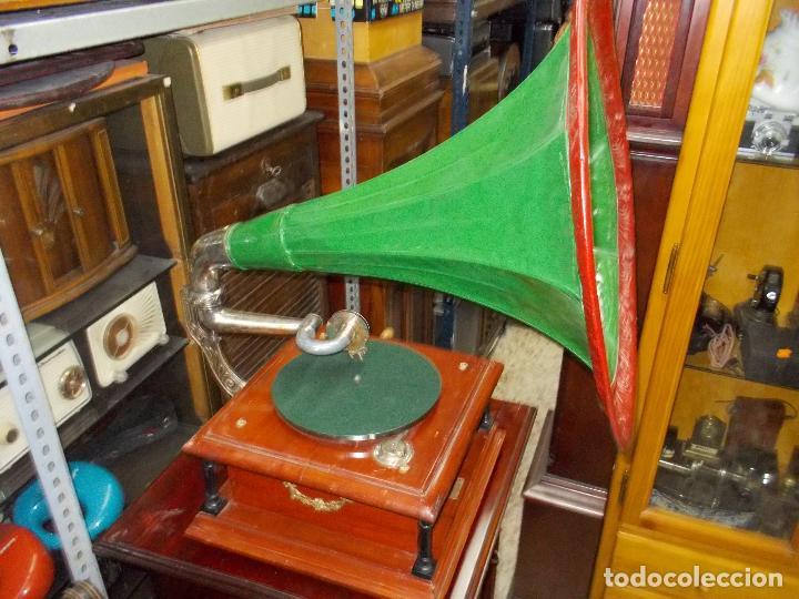 Gramófonos y gramolas: Gramofono funcionando - Foto 23 - 101381979