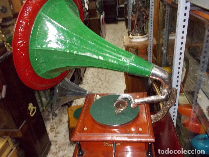 Gramófonos y gramolas: Gramofono funcionando - Foto 28 - 101381979