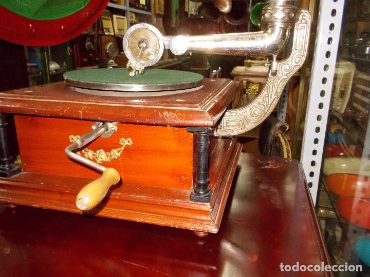 Gramófonos y gramolas: Gramofono funcionando - Foto 29 - 101381979