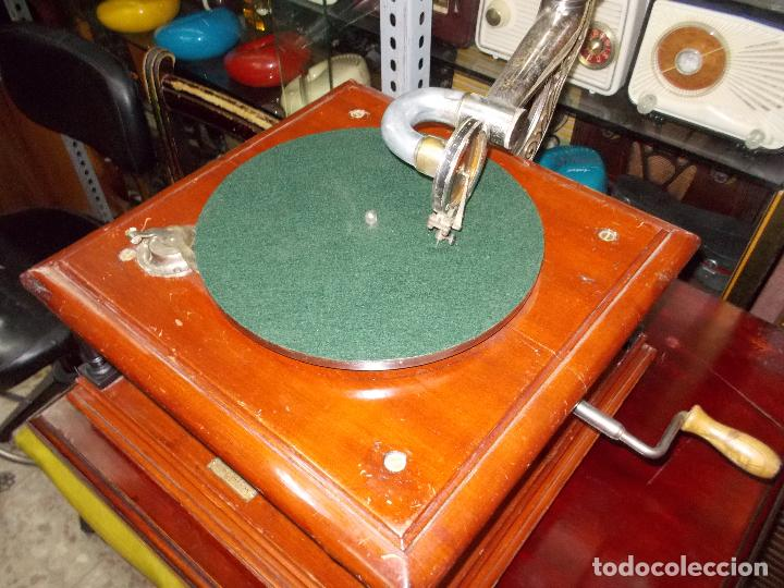 Gramófonos y gramolas: Gramofono funcionando - Foto 32 - 101381979