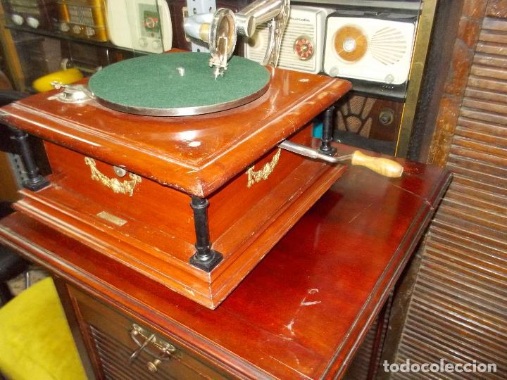 Gramófonos y gramolas: Gramofono funcionando - Foto 33 - 101381979