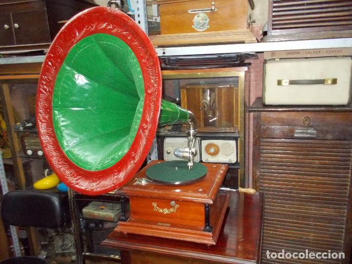 Gramófonos y gramolas: Gramofono funcionando - Foto 37 - 101381979