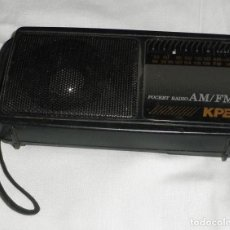 Gramófonos y gramolas: TRANSISTOR POCKET RADIO AM/FM KPE. Lote 262441420