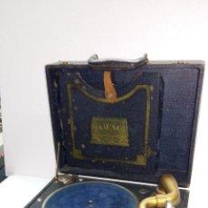 Gramófonos y gramolas: GRAMOFONO GEM - RARO. Lote 104048311