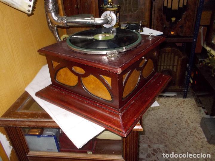 Gramófonos y gramolas: Gramofono funcionando - Foto 2 - 104963847