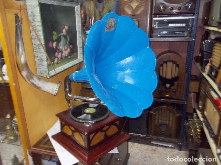 Gramófonos y gramolas: Gramofono funcionando - Foto 3 - 104963847