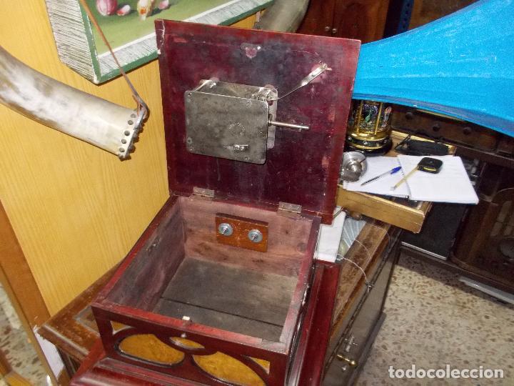 Gramófonos y gramolas: Gramofono funcionando - Foto 12 - 104963847