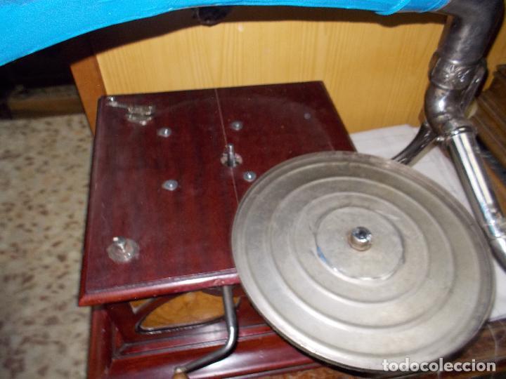 Gramófonos y gramolas: Gramofono funcionando - Foto 14 - 104963847