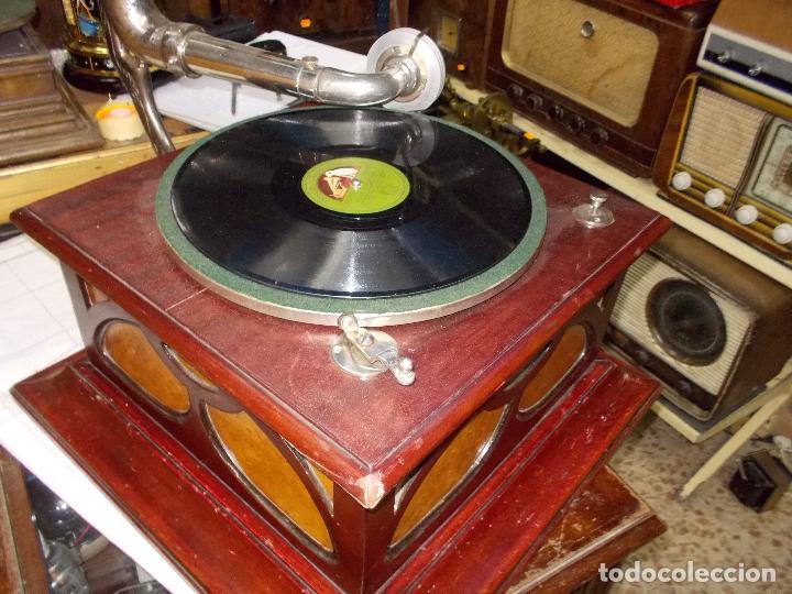 Gramófonos y gramolas: Gramofono funcionando - Foto 17 - 104963847