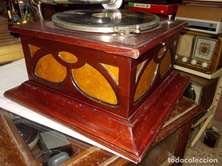 Gramófonos y gramolas: Gramofono funcionando - Foto 18 - 104963847