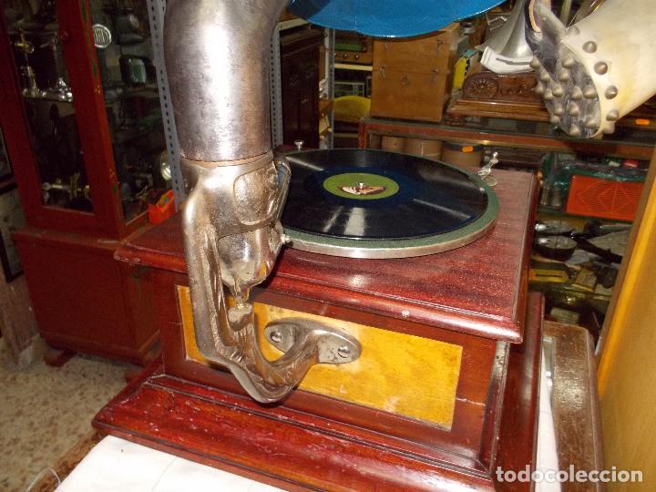 Gramófonos y gramolas: Gramofono funcionando - Foto 28 - 104963847