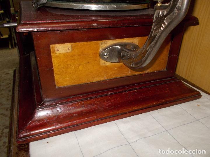 Gramófonos y gramolas: Gramofono funcionando - Foto 31 - 104963847