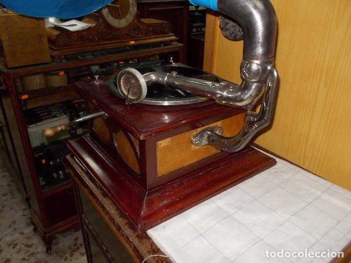 Gramófonos y gramolas: Gramofono funcionando - Foto 32 - 104963847