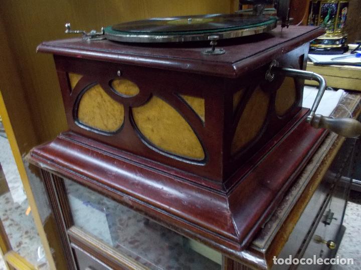 Gramófonos y gramolas: Gramofono funcionando - Foto 34 - 104963847