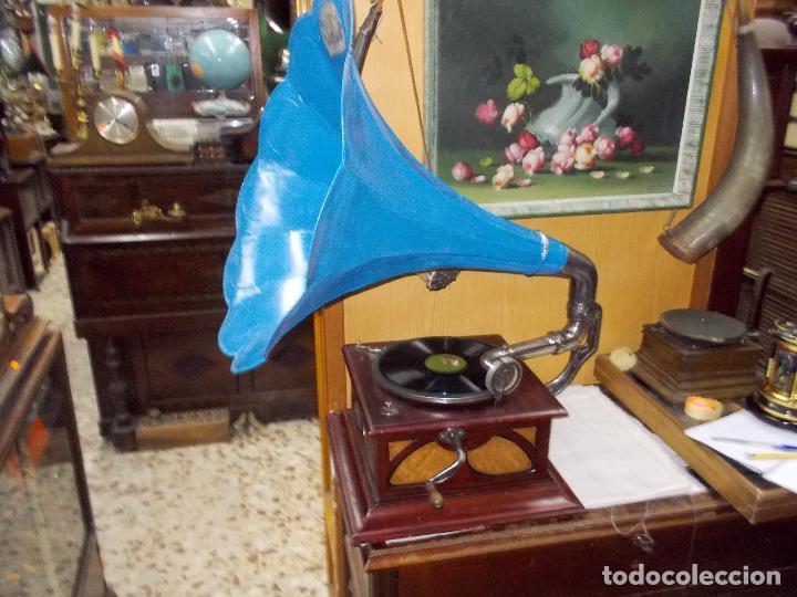 Gramófonos y gramolas: Gramofono funcionando - Foto 35 - 104963847