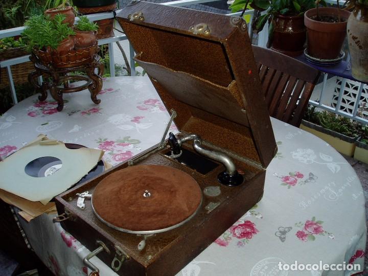 GRAMÓFONO PRINCIPIOS S. XX (Radios, Gramófonos, Grabadoras y Otros - Gramófonos y Gramolas)
