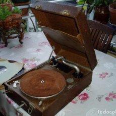 Gramófonos y gramolas: GRAMÓFONO PRINCIPIOS S. XX. Lote 105803331