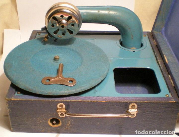 Gramófonos y gramolas: ANTIGUO Y PEQUEÑO GRAMOFONO INFANTIL FUNCIONANDO PRECIOSO AÑOS 20 188,00 € - Foto 3 - 107972723