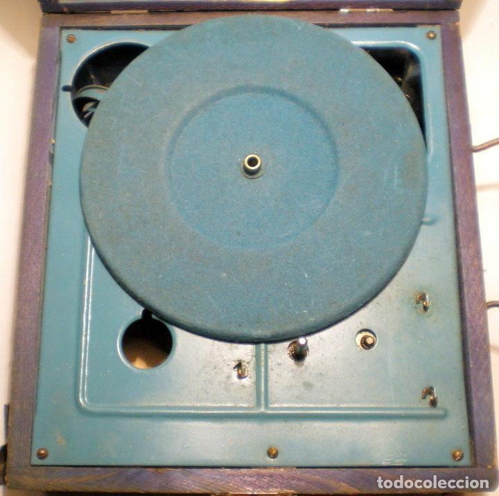 Gramófonos y gramolas: ANTIGUO Y PEQUEÑO GRAMOFONO INFANTIL FUNCIONANDO PRECIOSO AÑOS 20 188,00 € - Foto 4 - 107972723